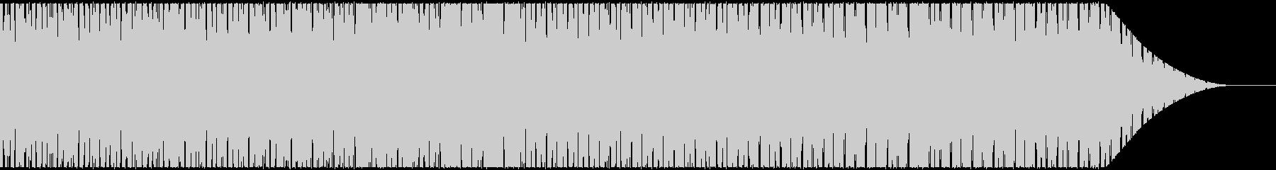ノリのいいダンスミュージック・ビートの未再生の波形