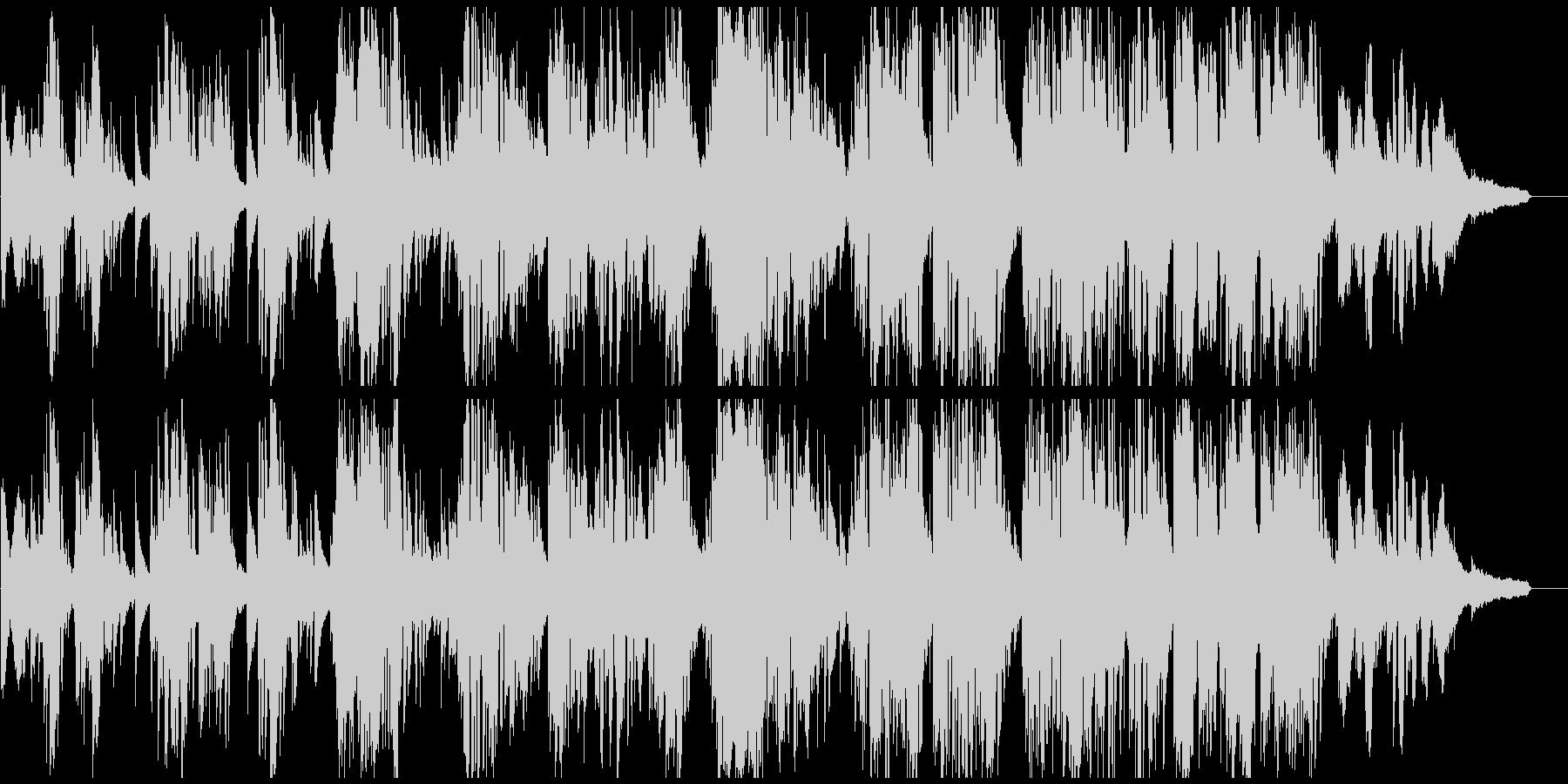 紳士的でダンディな低音サックスのバラードの未再生の波形