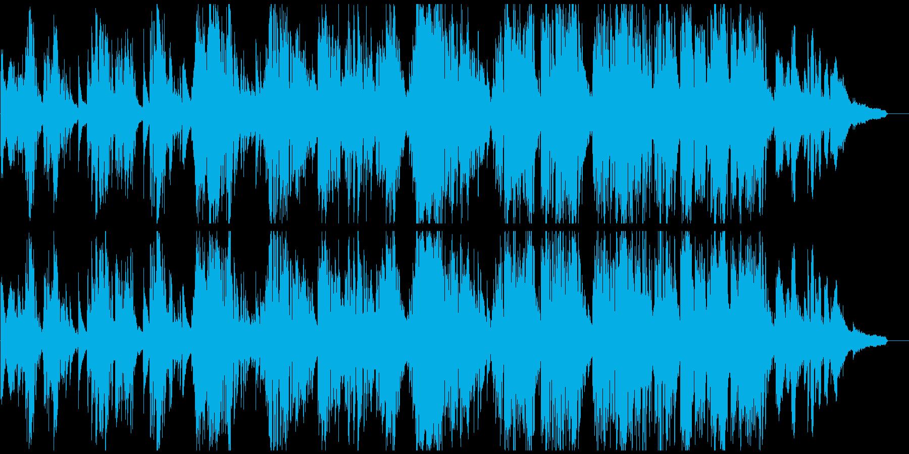 紳士的でダンディな低音サックスのバラードの再生済みの波形