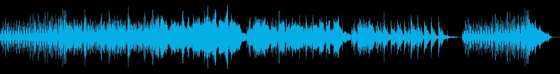 ノスタルジックな雰囲気の曲の再生済みの波形