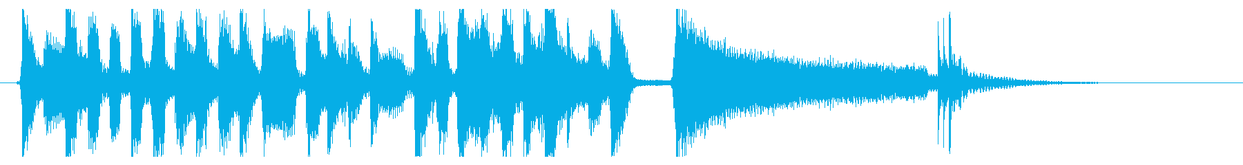 60sソウル風の明るくなれるジングル☆の再生済みの波形