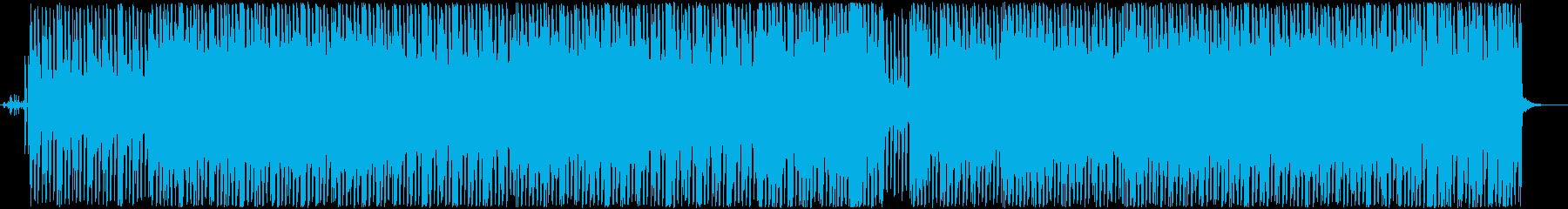 メロウなシンセベースのLo-Fiの再生済みの波形