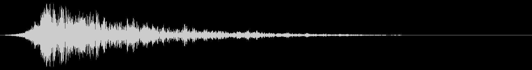 シュードーン-64-2(インパクト音)の未再生の波形