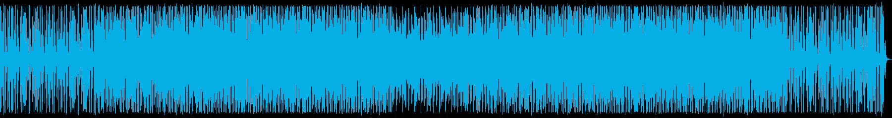 夜のネオン街。テクノ。の再生済みの波形