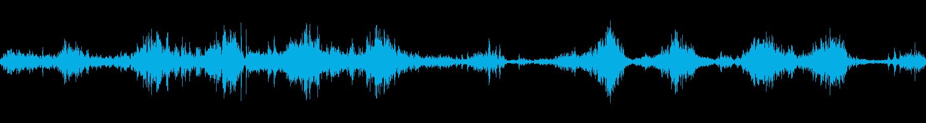 破壊ロボットの崩壊の再生済みの波形