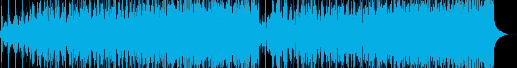 異世界・古代的なレゲトン エレキ無Aの再生済みの波形