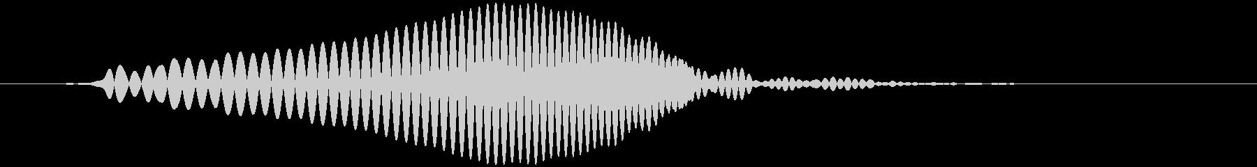 水中で浮く、泳ぐ (ポワ)の未再生の波形