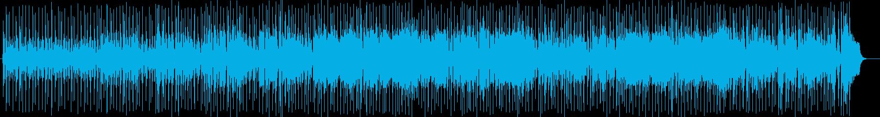 陽気なギタートランペットサウンドの再生済みの波形