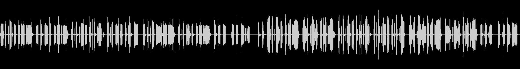 KANTほのぼのBGM200604の未再生の波形