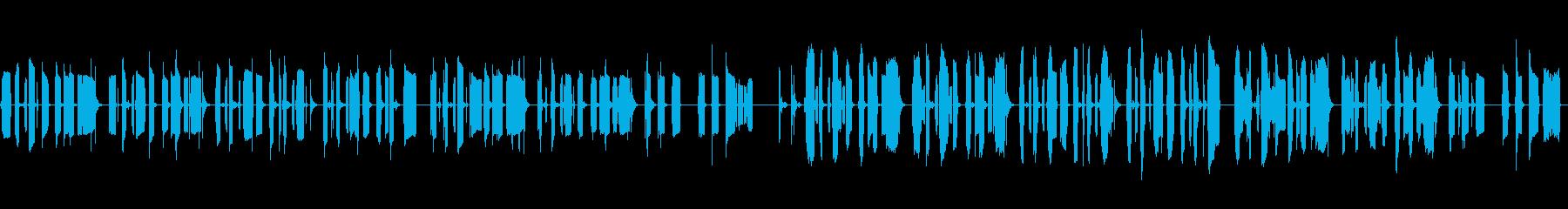 KANTほのぼのBGM200604の再生済みの波形