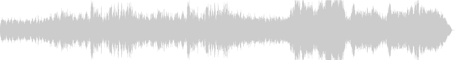 管弦楽によるオープニング系BGMの未再生の波形