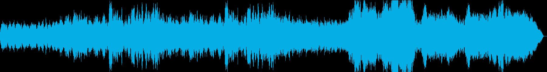 管弦楽によるオープニング系BGMの再生済みの波形