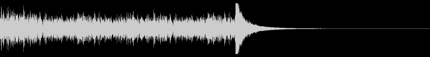 ドラムロール(19秒)の未再生の波形