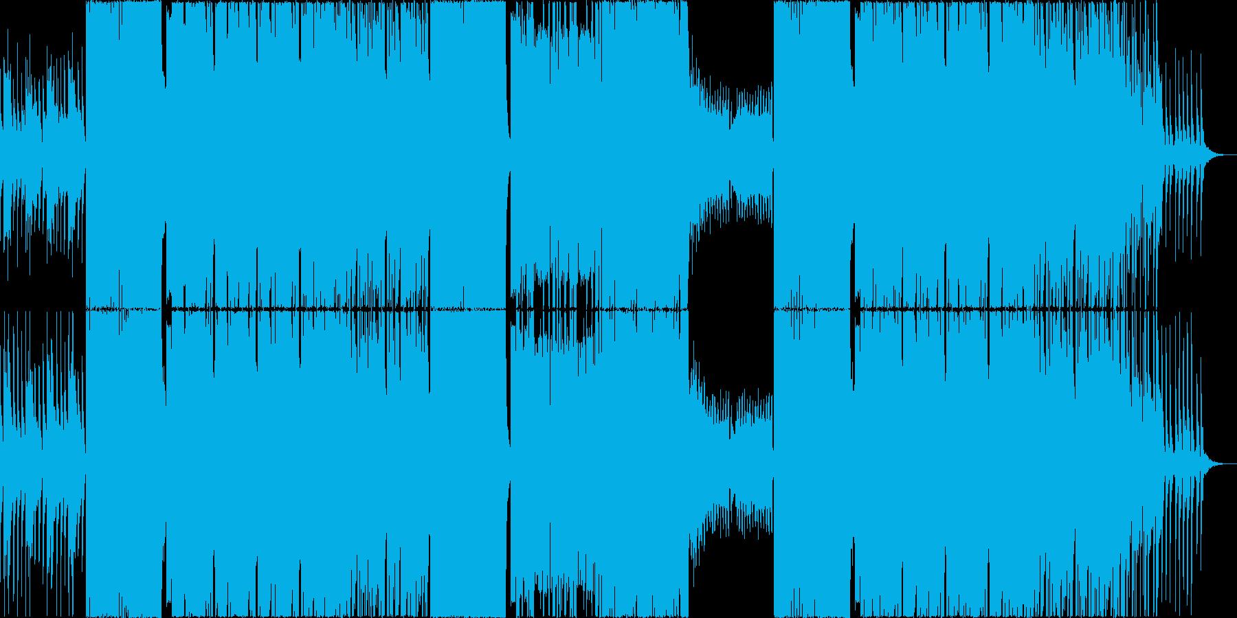 EDM Eゲーム バトル 激闘 パーティの再生済みの波形
