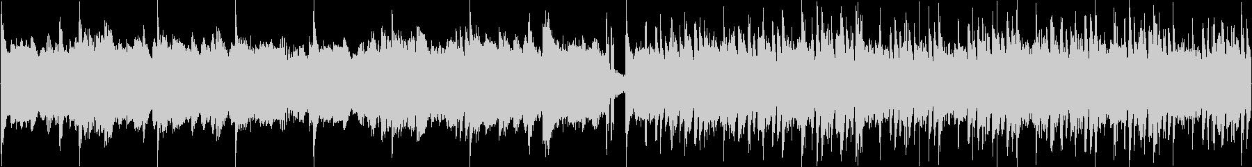 神秘的、幻想的なピアノBGMの未再生の波形