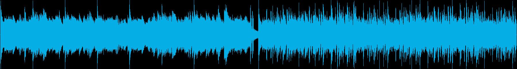神秘的、幻想的なピアノBGMの再生済みの波形