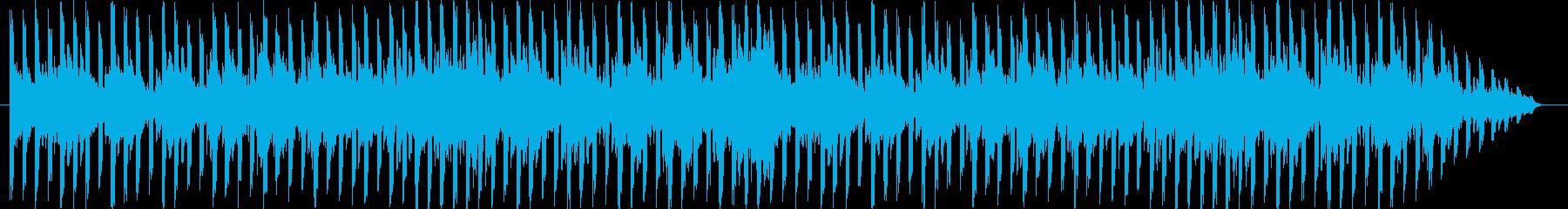 ポップでポジティブなメロディーで素...の再生済みの波形