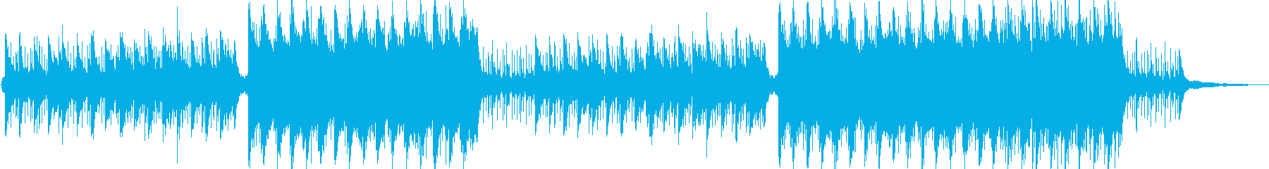 BGM for companies with a strong image's reproduced waveform