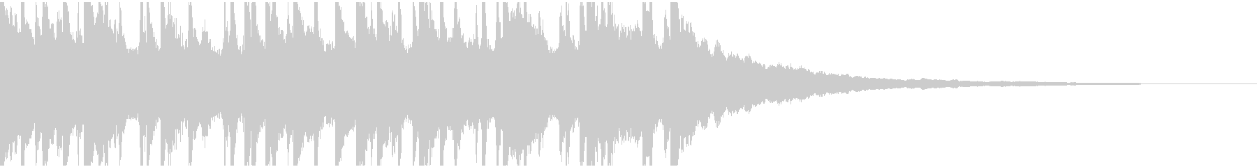 ウクレレ、ピアノの楽しい楽曲30秒Bの未再生の波形