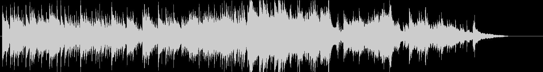 温かでちょっと切ないピアノバラードの未再生の波形