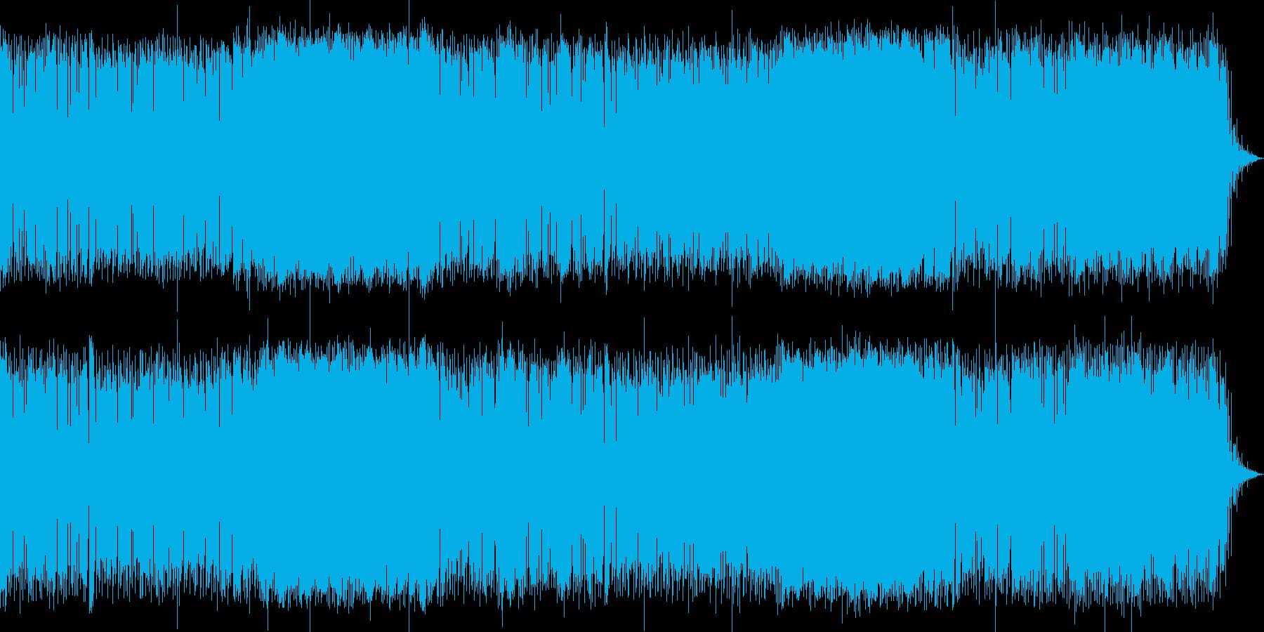 陽気でバカンスの雰囲気があるファンクの再生済みの波形