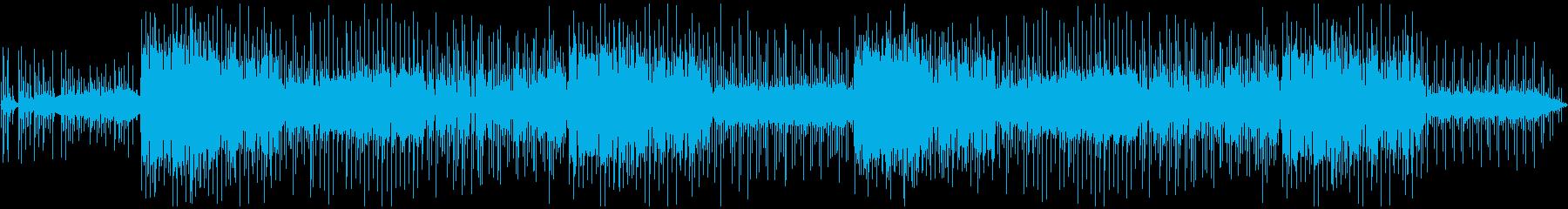 幻想的なバラードBGMの再生済みの波形