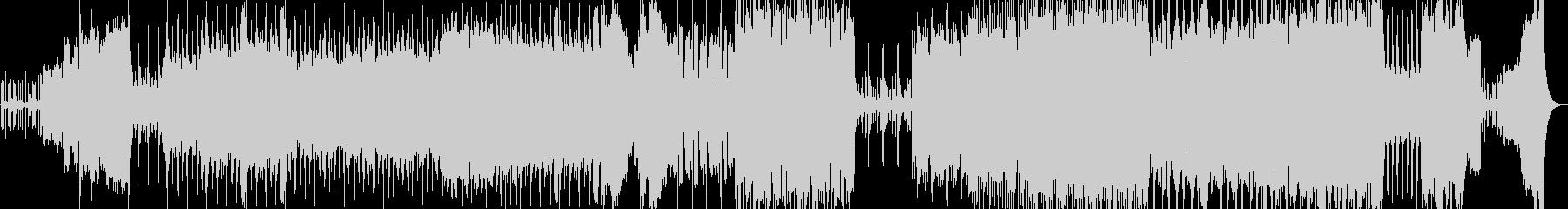 オーケストラハロウィンオープニングの未再生の波形