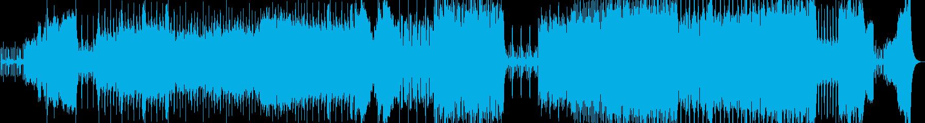 オーケストラハロウィンオープニングの再生済みの波形