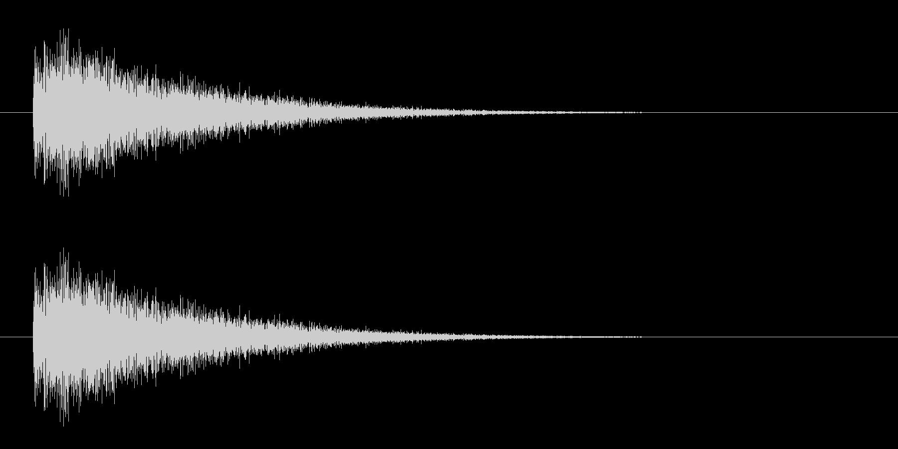 レーザー音-09-3の未再生の波形