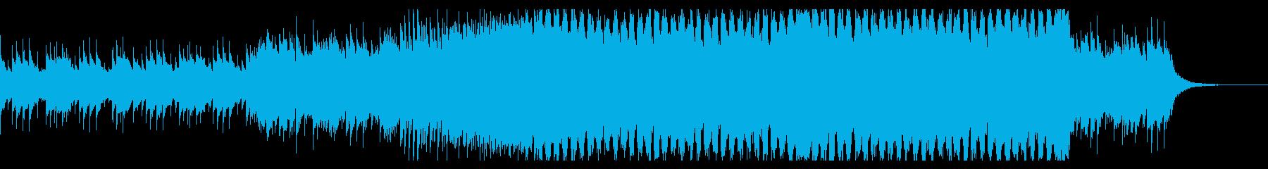 【CM・企業VP】EDMアンセム風の再生済みの波形