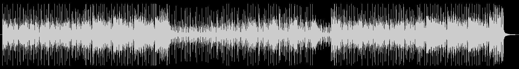 コミカルシーンに合う日常系ファンクの未再生の波形