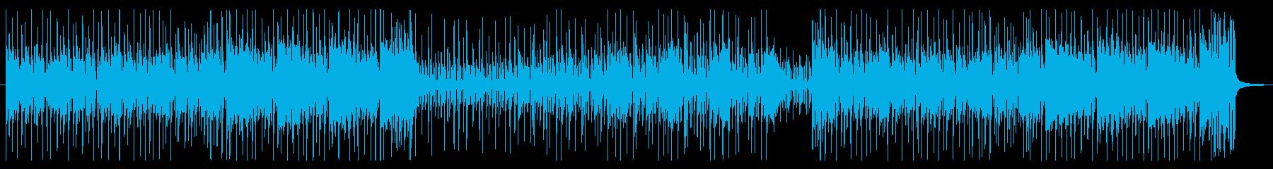 コミカルシーンに合う日常系ファンクの再生済みの波形