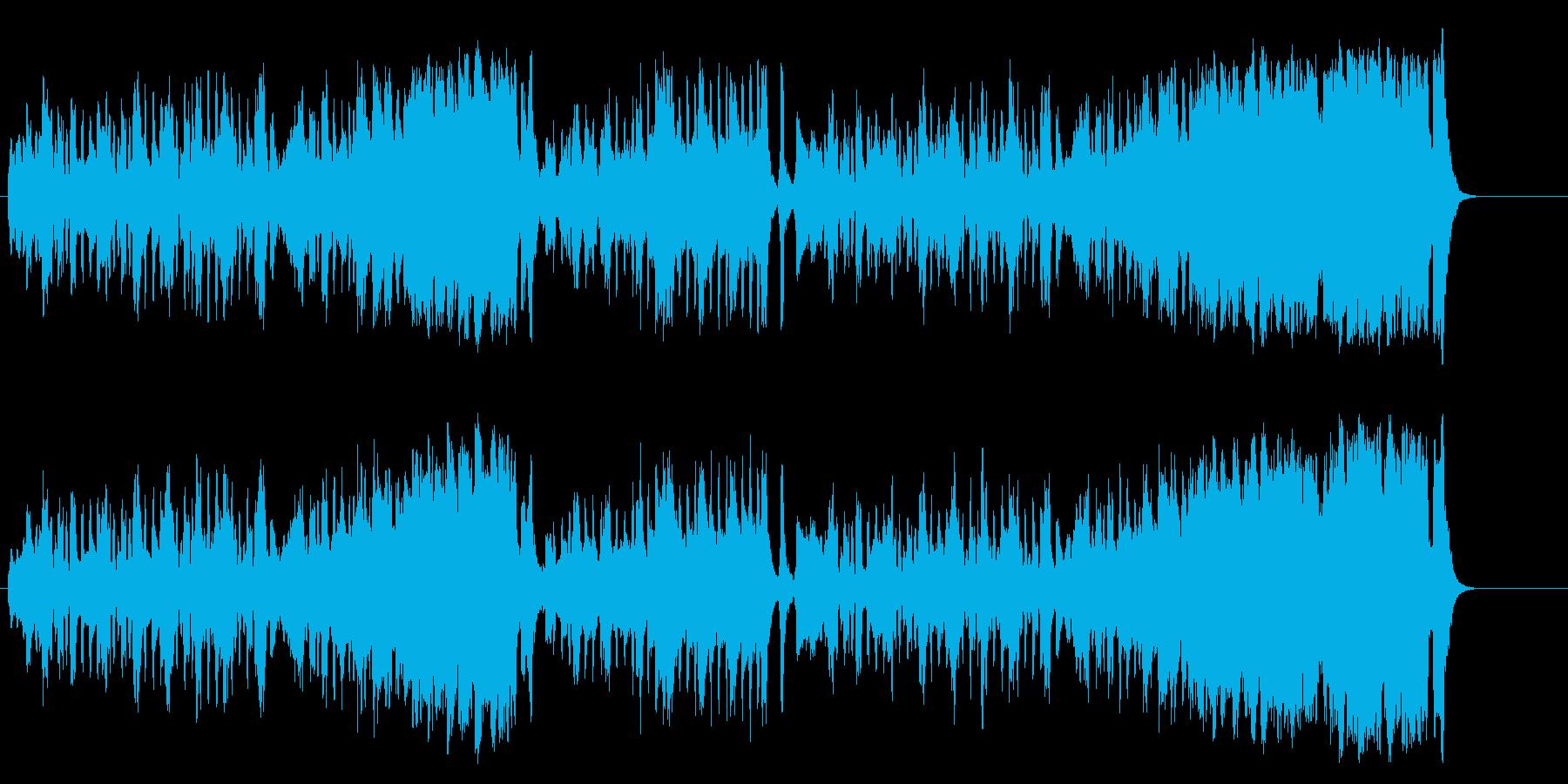 コンチネンタルタンゴ おしゃれ 優雅の再生済みの波形
