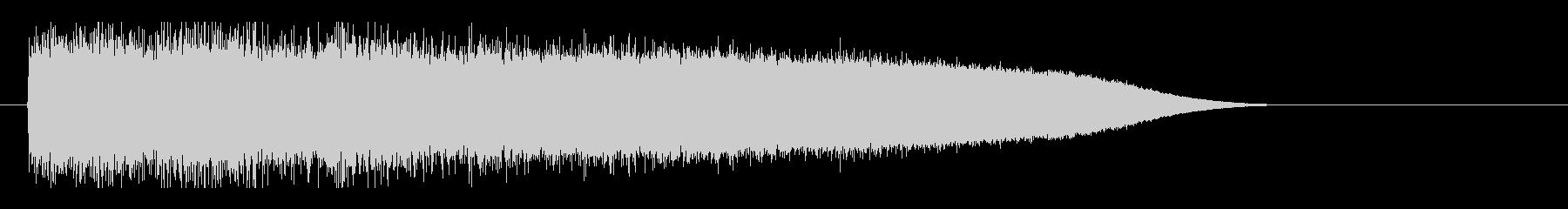 レーザー音-87-3の未再生の波形