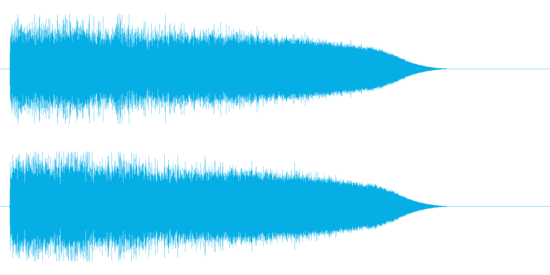 レーザー音-87-3の再生済みの波形