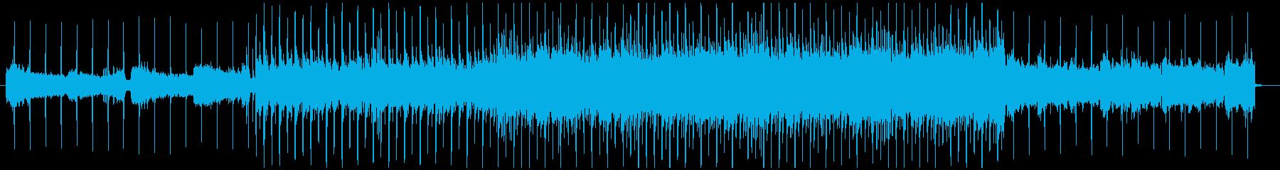 シティポップ風コーラスミュージックの再生済みの波形