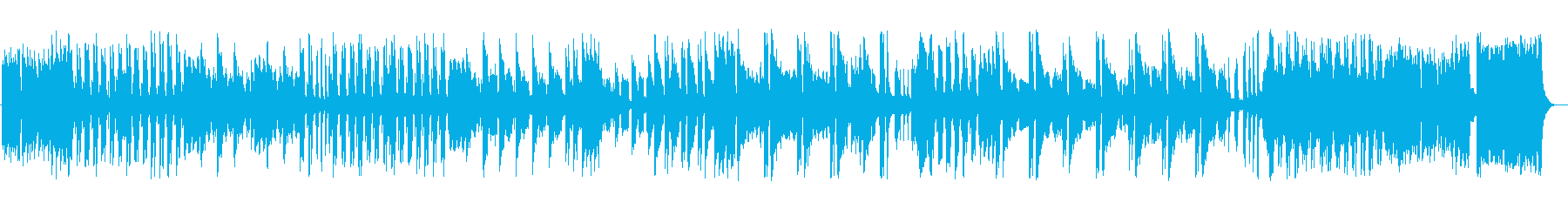 工場で毎日働く人夫たちを思わせる楽曲。の再生済みの波形