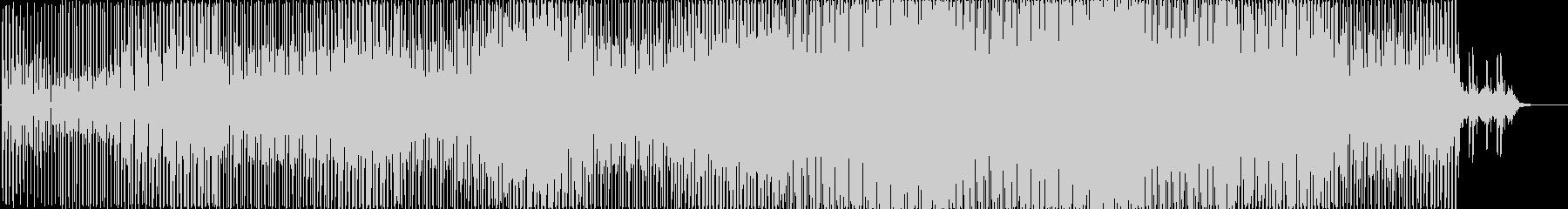 テクノ アクション 技術的な 繰り...の未再生の波形