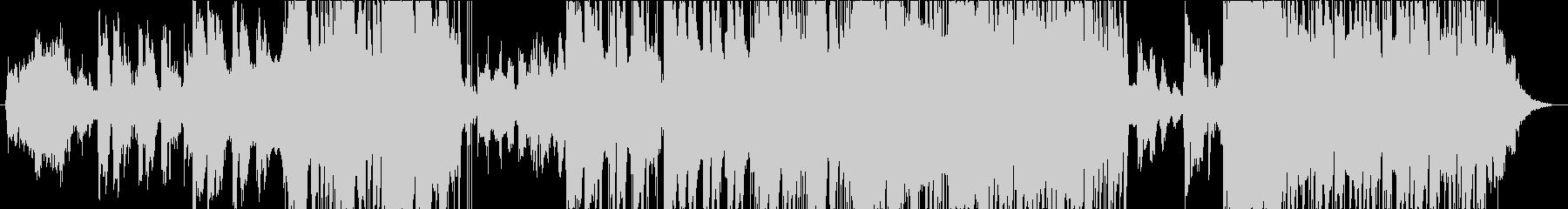 C-POPなピアノ曲の未再生の波形