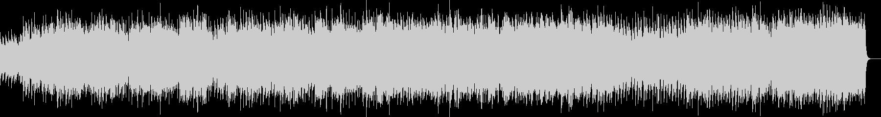 ほのぼのしたウクレレとピアノのBGMの未再生の波形