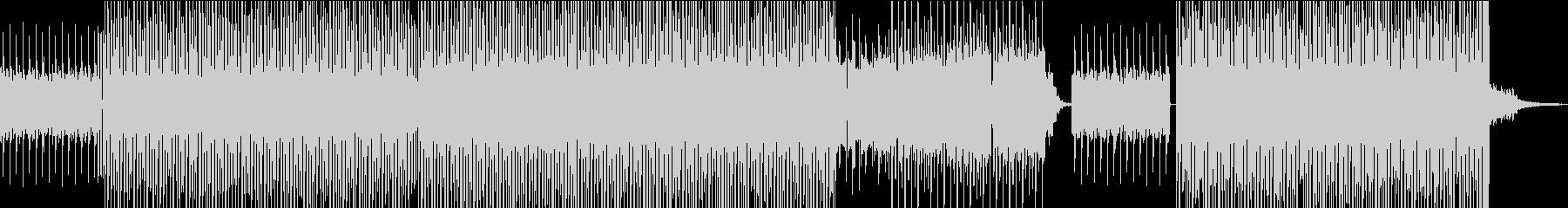 ポップなイメージのハウスの未再生の波形