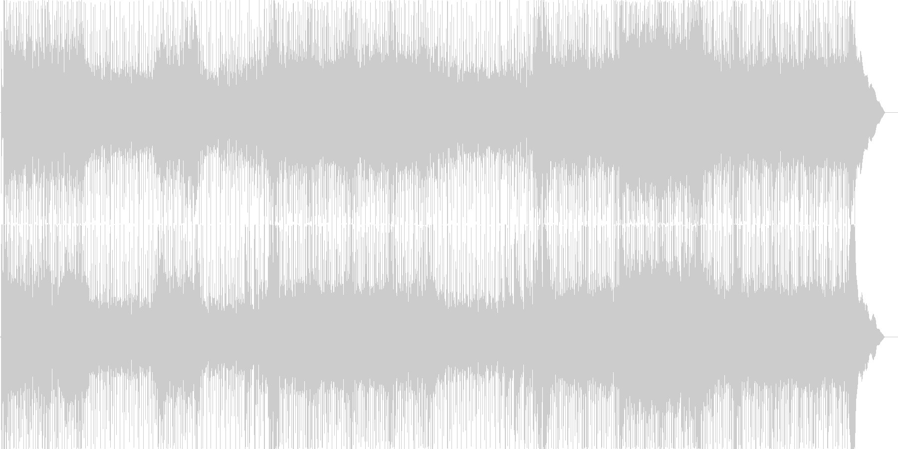 ハードロックギター、声、混乱、ギタ...の未再生の波形