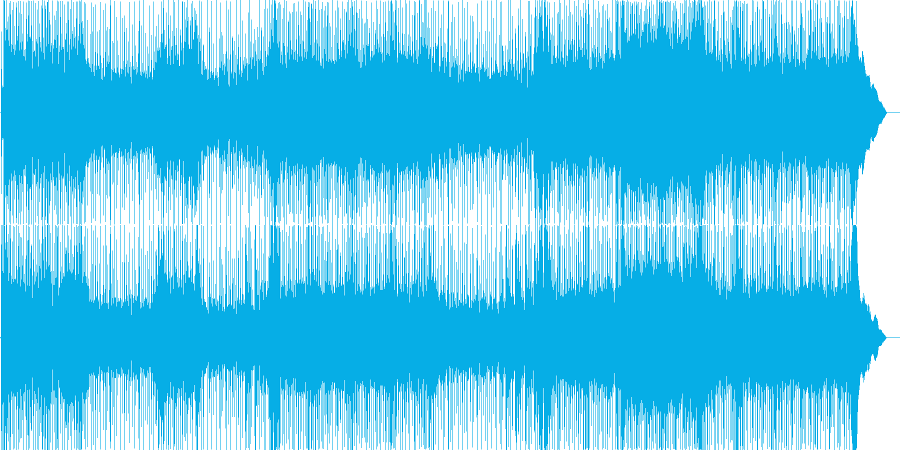 ハードロックギター、声、混乱、ギタ...の再生済みの波形