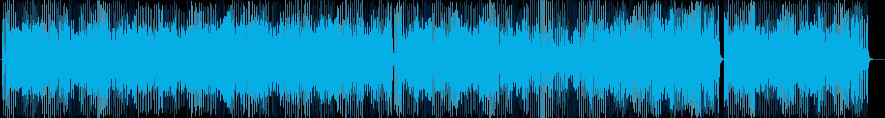 乙女チックなシンセサイザーポップサウンドの再生済みの波形