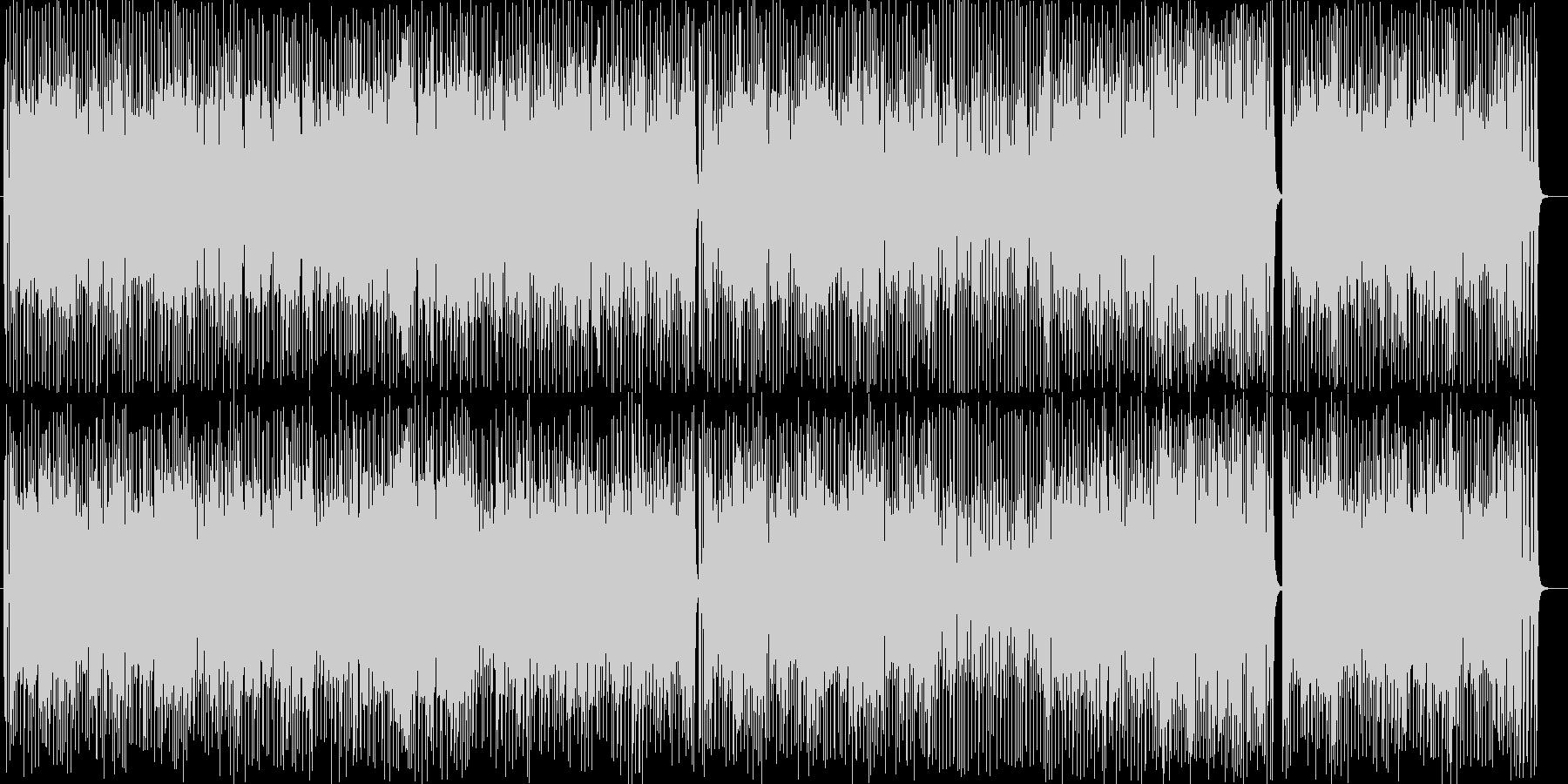 乙女チックなシンセサイザーポップサウンドの未再生の波形