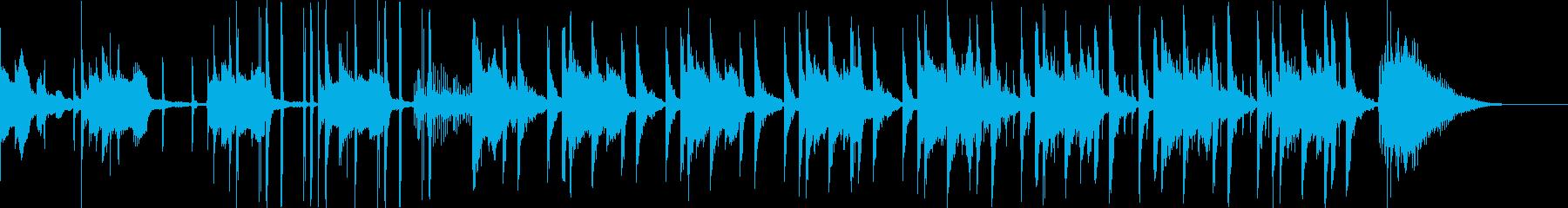 カッコいいラテンサウンド30秒[CM]の再生済みの波形