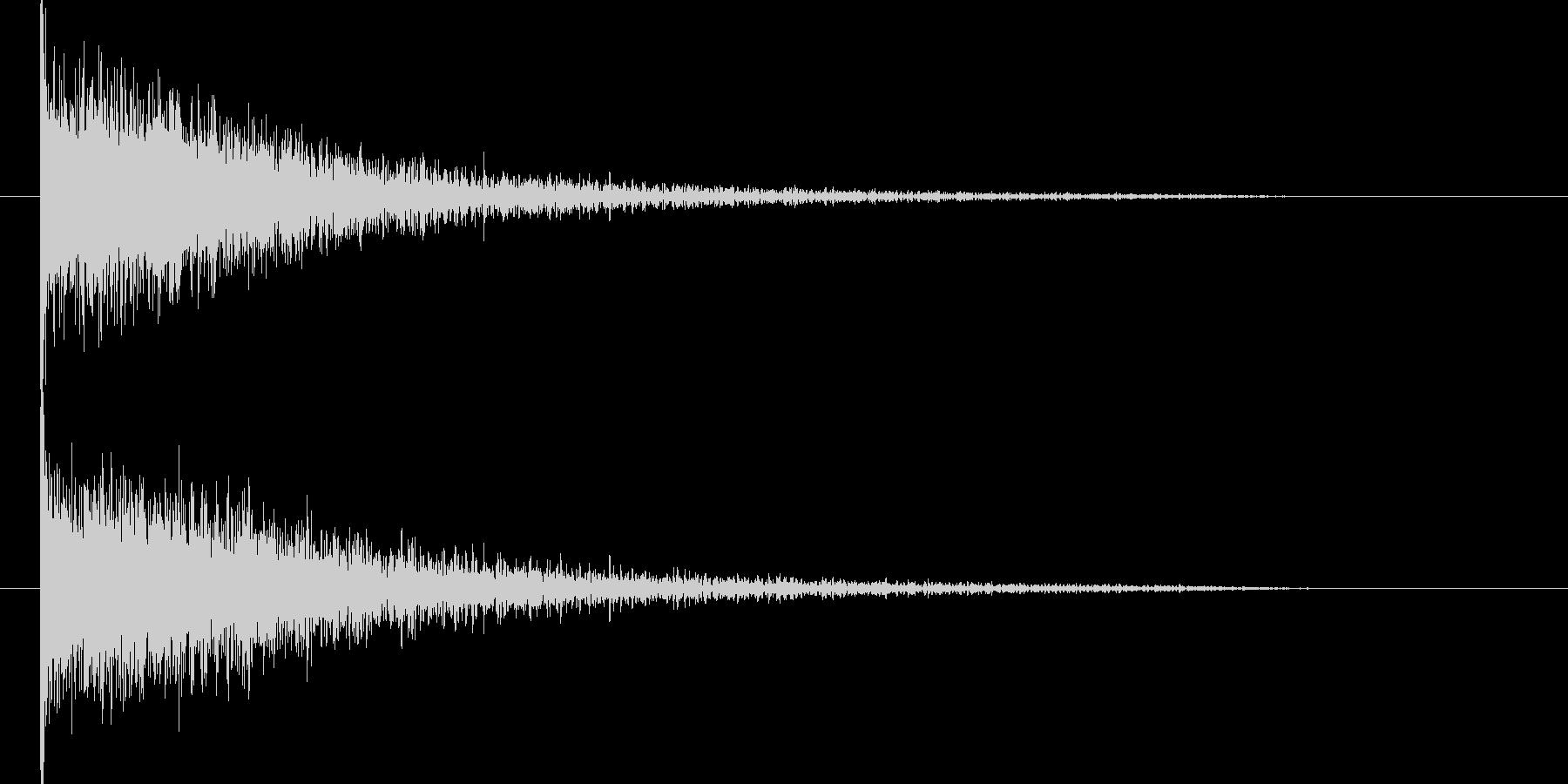 映画告知音11 ドーンの未再生の波形