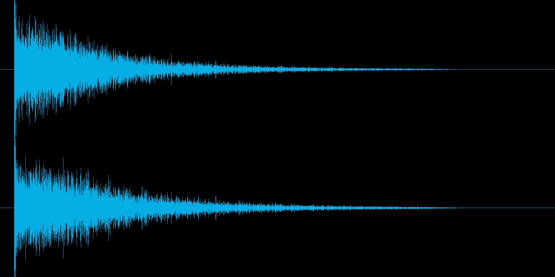 映画告知音11 ドーンの再生済みの波形