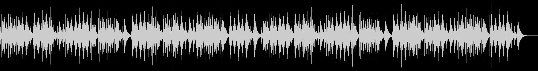 蛍の光 カード式オルゴールの未再生の波形