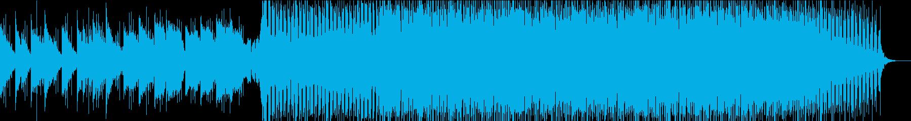 ハウス ダンス プログレッシブ ロ...の再生済みの波形